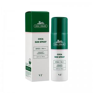 Солнцезащитный спрей для чувствительной кожи VT Cosmetic Cica Sun Spray SPF 50+/PA+++ 150мл
