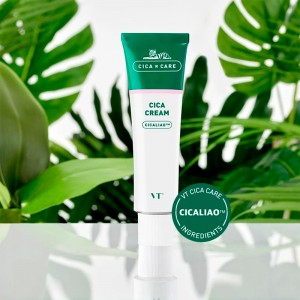 Успокаивающий крем для чувствительной кожи с центеллой VT Cosmetics Cica Cream 50 мл
