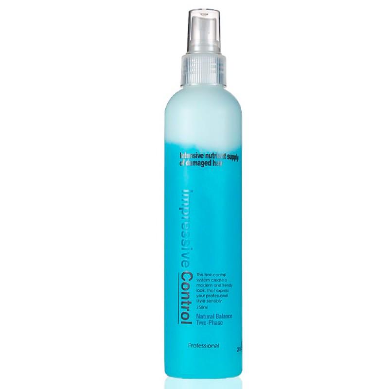 Двухфазный спрей для поврежденных волос WELCOS Mugens Natural Two-Phase - 250 мл