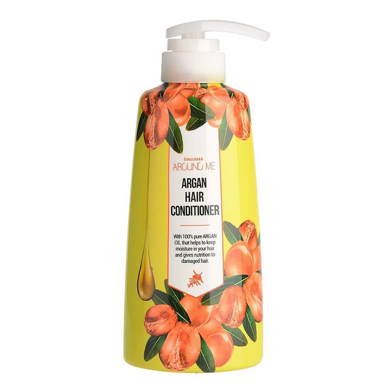 Кондиционер для волос c маслом арганы WELCOS Kwailnara Around Me Argan Hair Conditioner500 мл