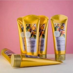 Маска для волос с маслом арганы и золотом WELCOS Confume Argan Gold Treatment 200 мл