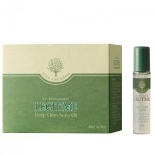 Масло для глубокого очищения кожи головы WELCOS Mugens Legitime Deep Clean Scalp Oil - 10мл*8