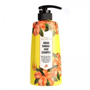 Шампунь для волос c маслом арганы WELCOS Kwailnara Around Me Argan Hair Shampoo 500 мл