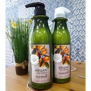 Шампунь с аргановым маслом WELCOS Confume Argan Hair Shampoo