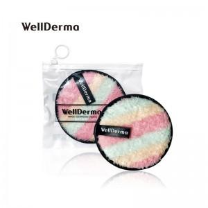 Спонж для умывания WellDerma Magic Cleansing Cookie Macaron 1 шт