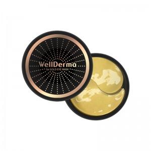 Омолаживающие патчи с германием и золотом WellDerma Ge Gold Eye Mask 60 шт