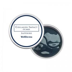 Увлажняющие патчи с морским коллагеном WellDerma Collagen Impact Sapphire Eye Mask 60 шт