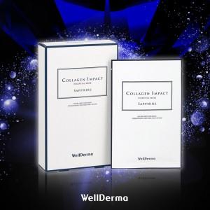 Омолаживающая тканевая маска с морским коллагеном WellDerma Collagen Impact Essential Mask 25 мл
