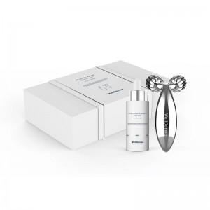 Лифтинг-набор с коллагеном и массажером WELLDERMA Collagen Beauty Care Serum Roller Set