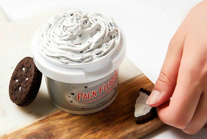 Маска-скраб для лица A'PIEU Pack Flurry Cookie and Cream