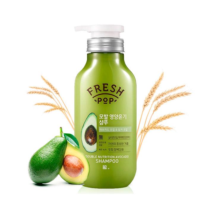Питательный шампунь для восстановления волос FRESH POP Double Nutrition Avocado Shampoo