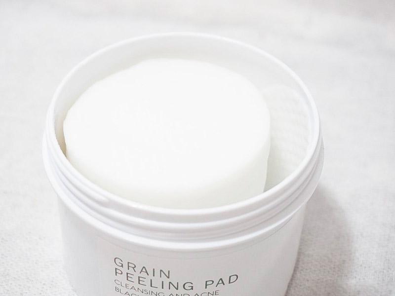 Пилинг-пады с рисом и BHA-кислотами GRAYMELIN Grain Peeling Pad