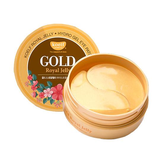 Гидрогелевые патчи для глаз с золотом KOELF Gold and Royal Jelly Hydrogel Eye Patch