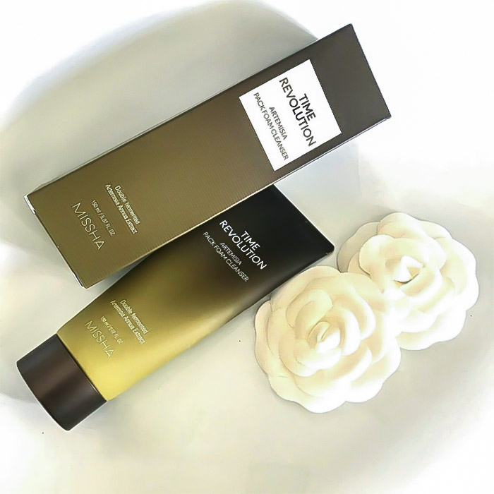 Очищающая пенка-маска для лица MISSHA Time Revolution Artemisia Pack Foam Cleanser