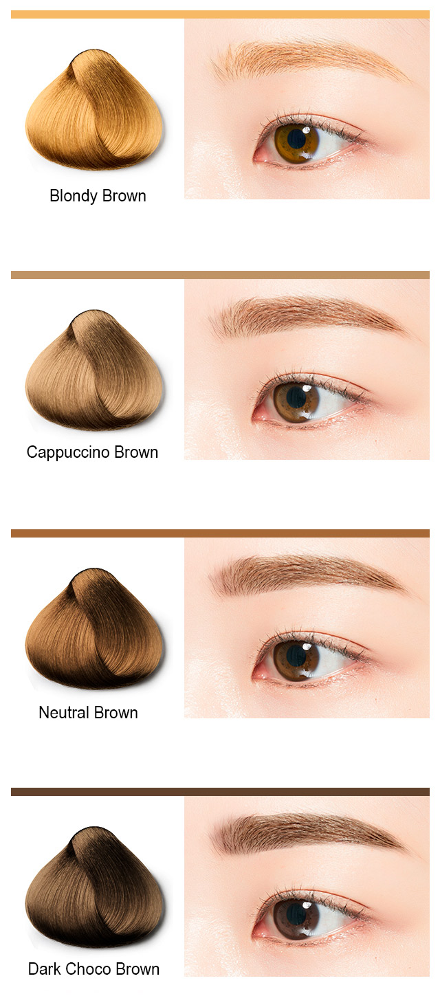 Тушь для бровей MISSHA Color Wear Browcara