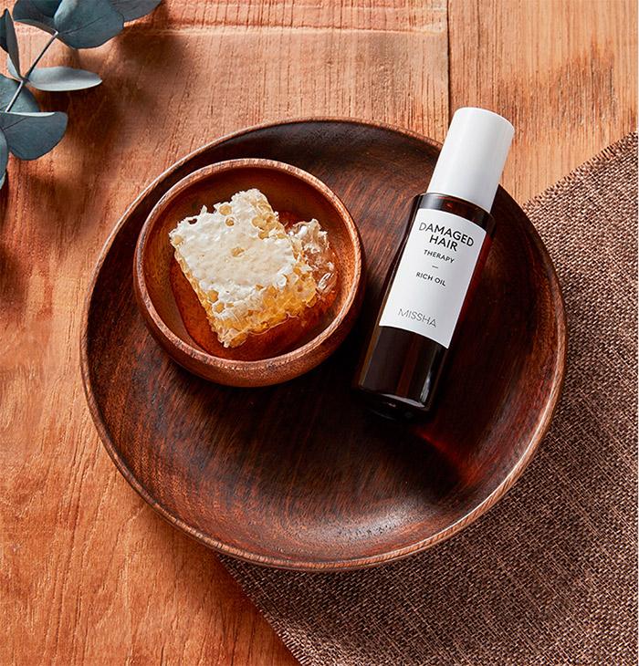 Масло для поврежденных волос MISSHA Damaged Hair Therapy Rich Oil