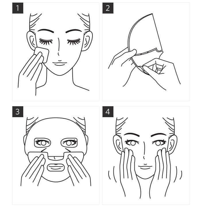 Гидрогелевая маска для лица MISSHA Melting Embo Gel Mask