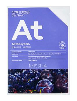 Тканевые маски для лица MISSHA Phytochemical Skin Supplement Sheet Mask