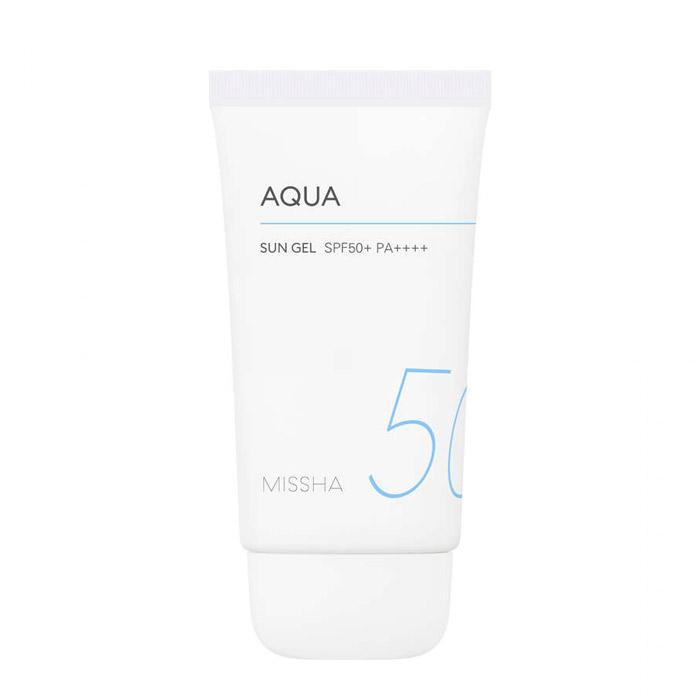 Солнцезащитный гель для лица и тела MISSHA All Around Safe Block Aqua Sun Gel SPF50