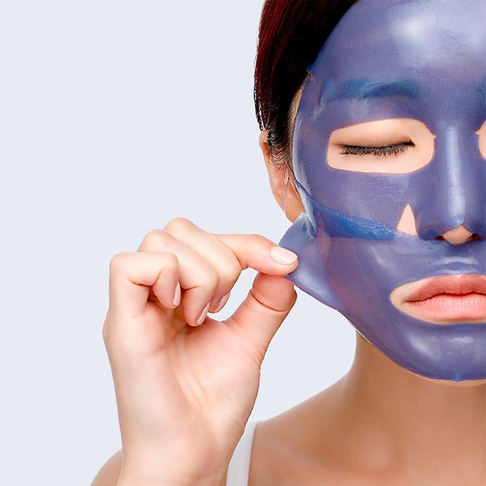 Охлаждающая гидрогелевая маска PETITFEE Agave Cooling Hydrogel Face Mask