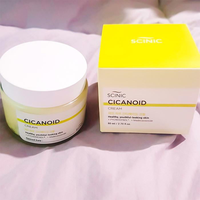 Антивозрастной крем с циканоидом SCINIC Cicanoid Cream
