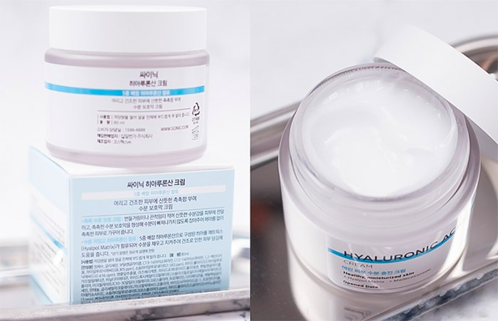 Крем для лица с гиалуроновой кислотой SCINIC Hyaluronic Acid Cream