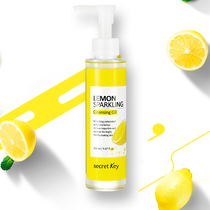 Гидрофильное масло с лимоном SECRET KEY Lemon Sparkling Cleansing Oil