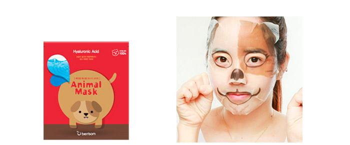 Тканевые маски с животными BERRISOM Animal Mask Series