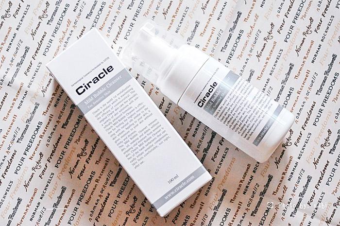 Кислородная пенка для чувствительной кожи CIRACLE Mild Bubble Cleanser