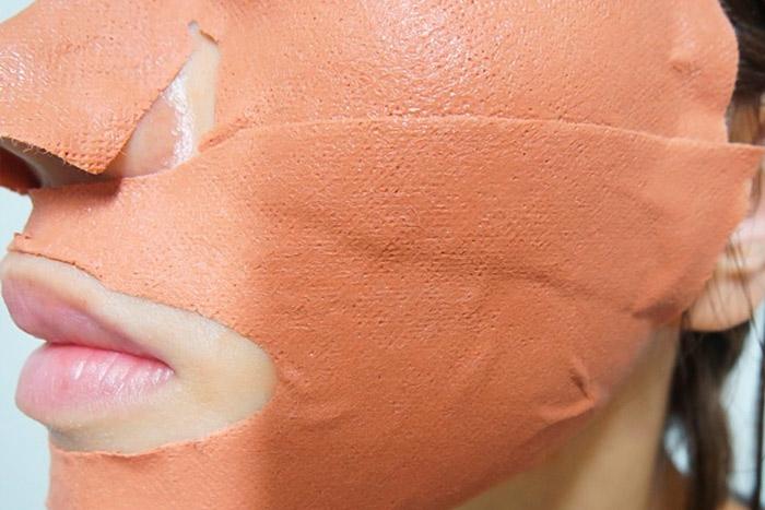 Глиняная тканевая маска для лица G9 Skin Color Clay Sheet