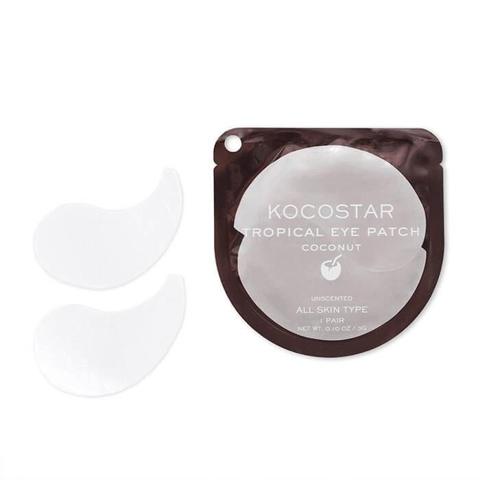 Гидрогелевые патчи для век с кокосом KOCOSTAR Tropical Eye Patch Coconut