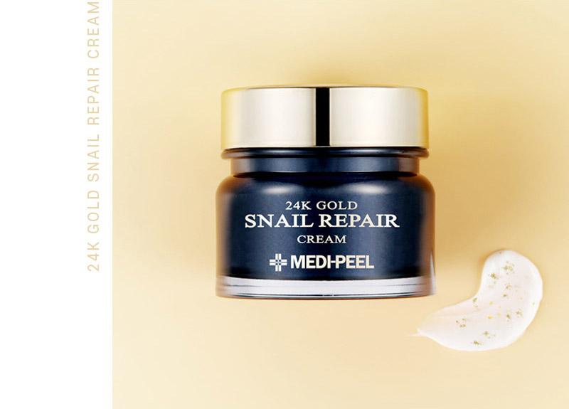 Крем с коллоидным золотом и муцином улитки MEDI-PEEL Luxury 24K Gold Snail Cream 50 мл