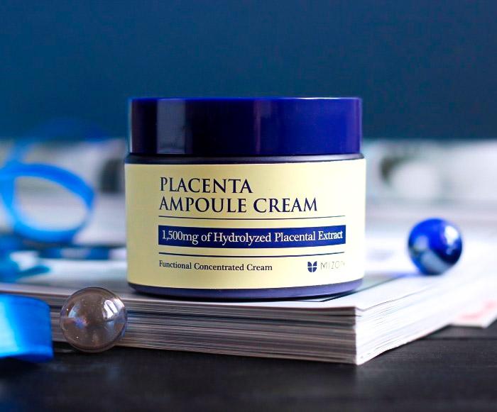 Антивозрастной крем с плацентой MIZON Placenta Ampoule Cream
