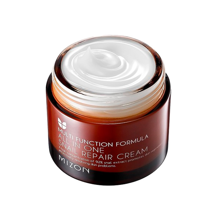 Крем с муцином улитки для лица MIZON All In One Snail Repair Cream