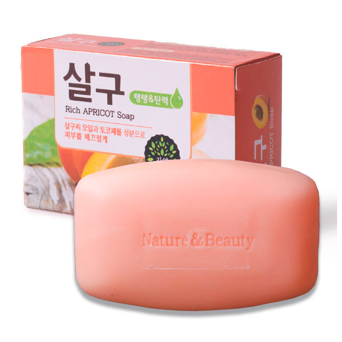Абрикосовое мыло Mukunghwa Rich Apricot Soap