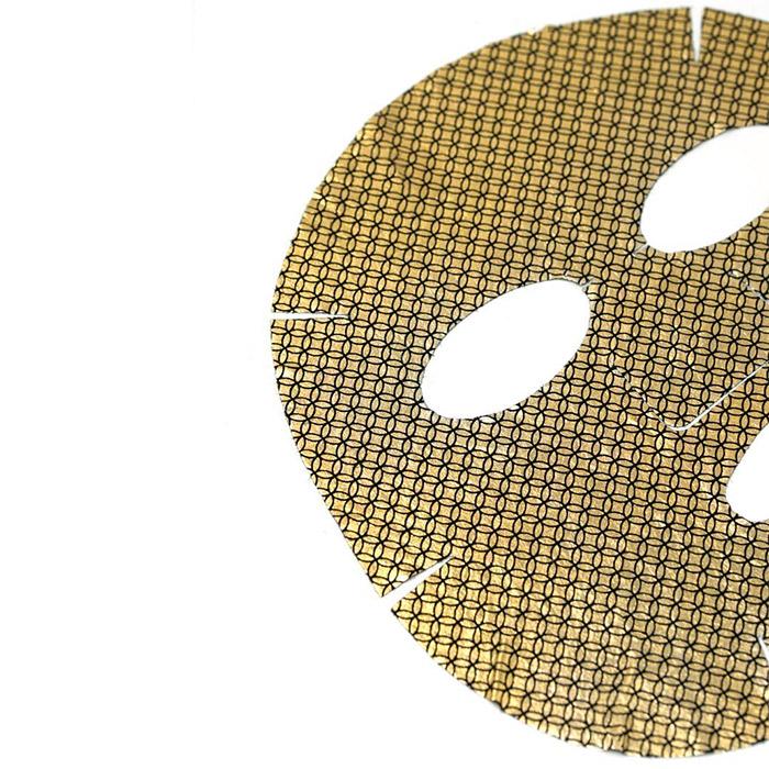 Tkanevaja maska NOHJ Power Foil 24K Gold Mask