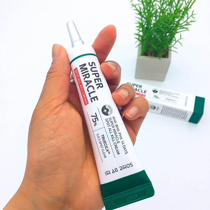 Точечный крем для проблемной кожи c кислотами SOME BY MI AHA-BHA-PHA 14 Days Super Miracle Spot All Kill Cream