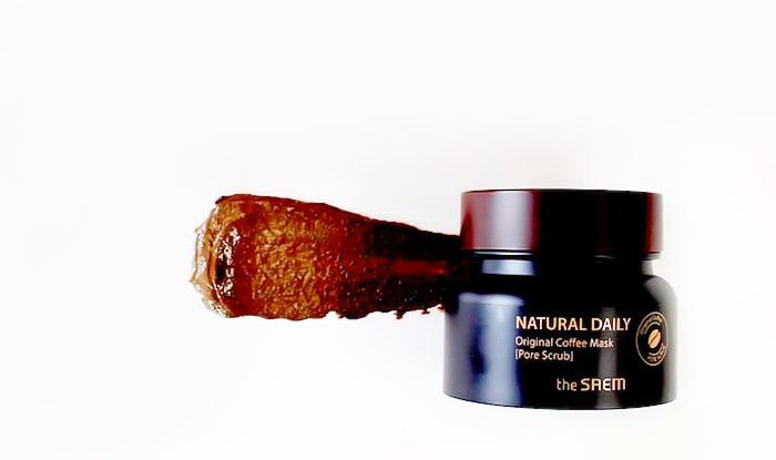 Очищающая кофейная маска THE SAEM Natural Daily Original Coffee Mask