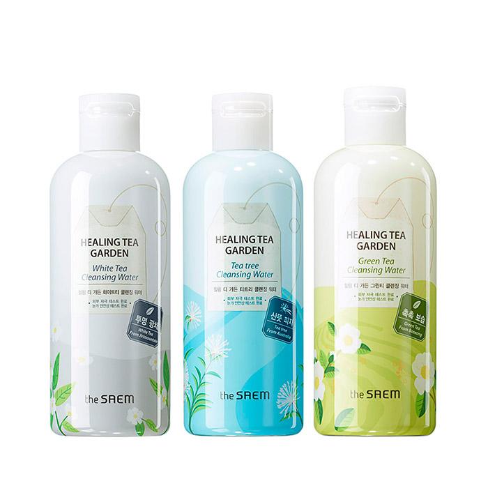 Очищающая вода для снятия макияжа THE SAEM Healing Tea Garden Cleansing Water